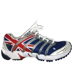 K-Swiss Sneakers United Kingdom UK Flag 8 Rare